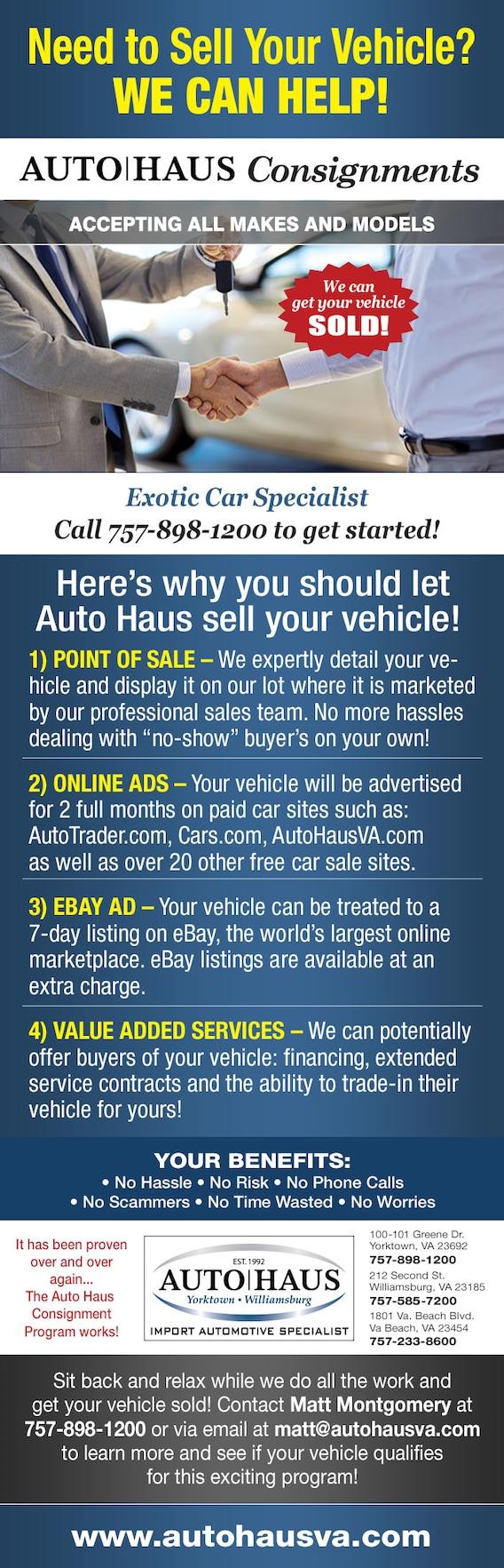 Auto Haus Consignments Auto Haus