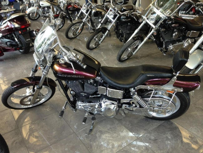 1995 Harley W/Glide Motorcycle
