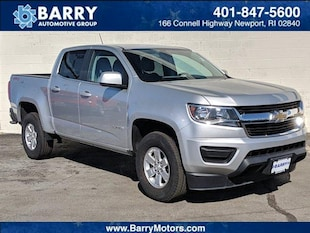 2018 Chevrolet Colorado WT Crew Cab Pickup