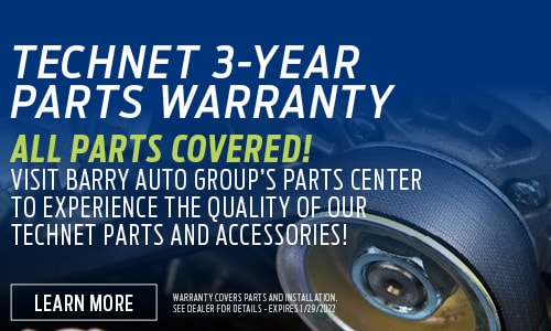 TechNet 3-Year Parts Warranty
