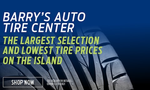 The Largest Selection and Lowest Tire Prices on the Island