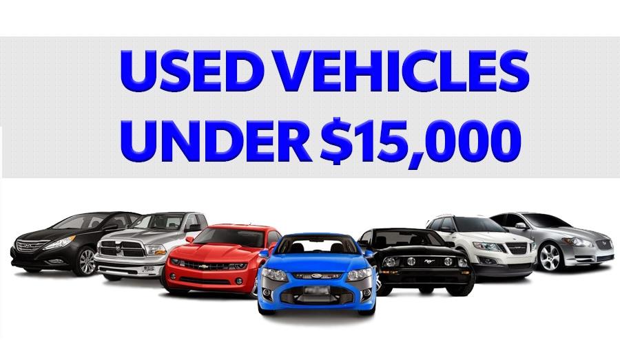 Used Vehicle Under $15K