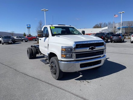 2020 Chevrolet 5500HD LCF Diesel Work Truck Truck Regular Cab