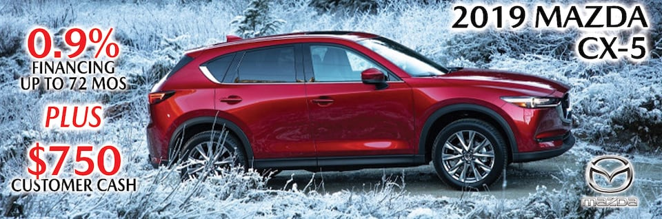 New Year New Ride in a Mazda CX-5