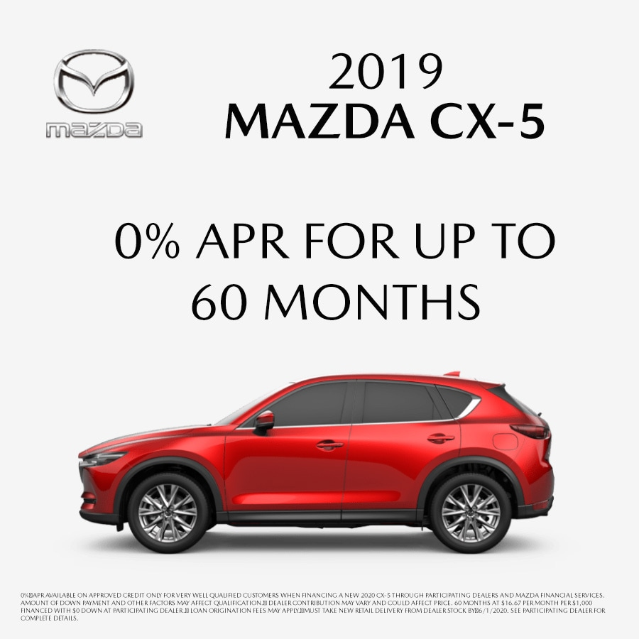 Remaining 2019 Mazda CX-5 at Blaise Alexander Mazda in State College PA
