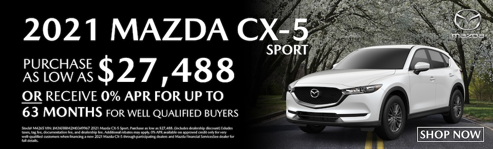Find Your New Mazda CX-5 at Blaise Alexander Mazda State College, PA