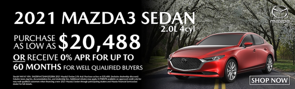 Find Your New Mazda3 at Blaise Alexander Mazda, State College PA