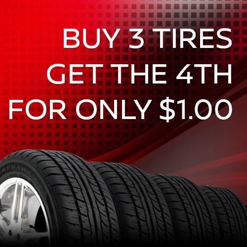 Tire Sales Event