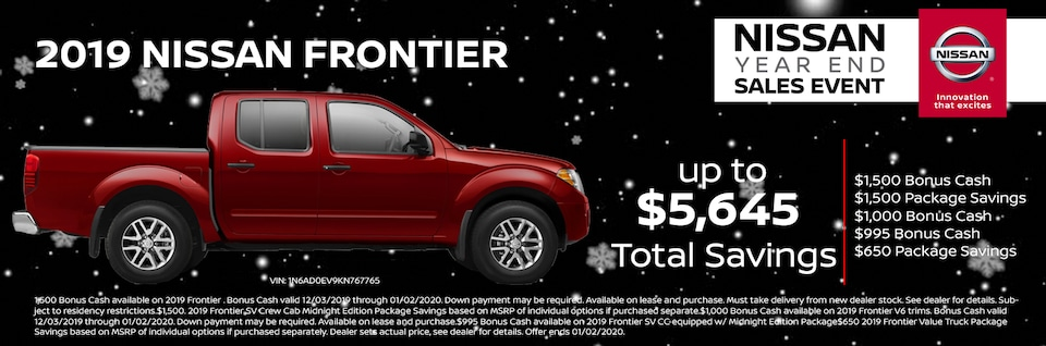 Nissan Frontier For You at Alexander Nissan