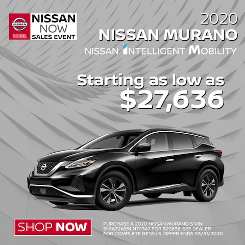 Find Your New Murano at Blaise Alexander Nissan.