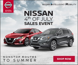 Nissan 4th Of July Sales Event at Blaise Alexander Nissan