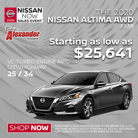 Looking for an AWD Nissan Altima?