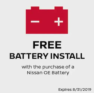 Free Battery Install