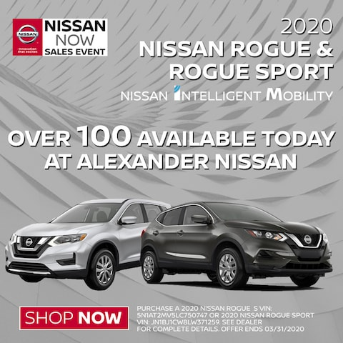 Looking for a Nissan Rogue?