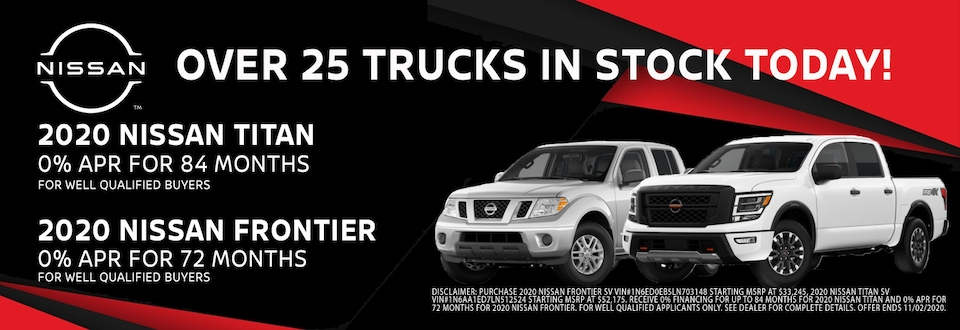 Find Your New Nissan Truck at Blaise Alexander Nissan in Muncy PA