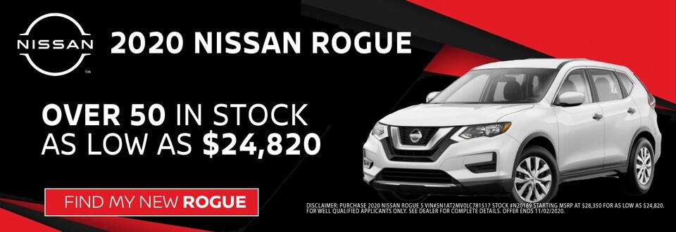 2020 Nissan Rogue at Blaise Alexander Nissan in Muncy PA