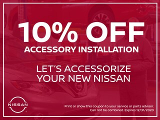 10% Off Accessory Installation