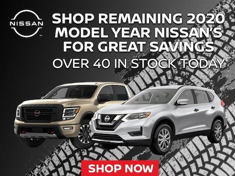 Great Savings On Remaining 2020 Model Year Nissan's in Muncy, PA