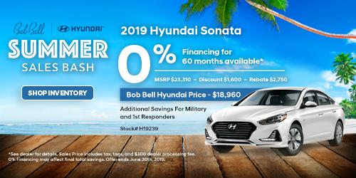 New 2019 Hyundai Sonata 6/14/2019