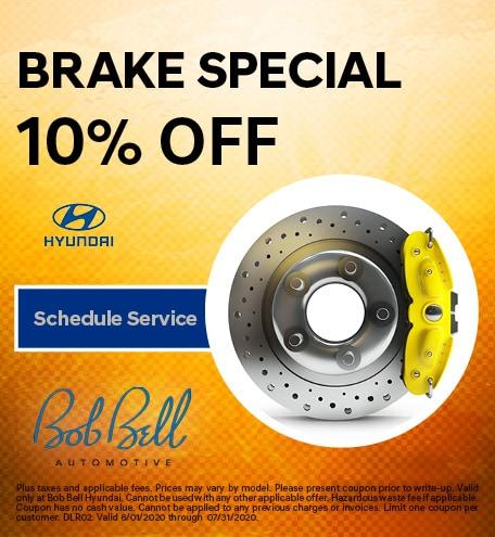 Brake Special 10% OFF