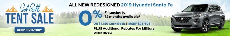New 2019 Hyundai Santa Fe 8/21/2019