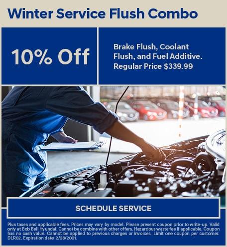 Winter Service Flush Combo