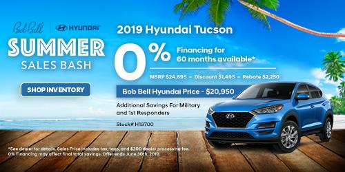 New 2019 Hyundai Tucson 6/14/2019