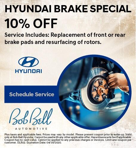 Hyundai Brake Special