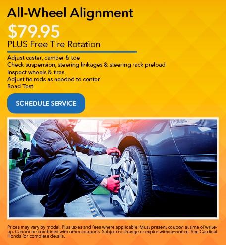 All-Wheel Alignment