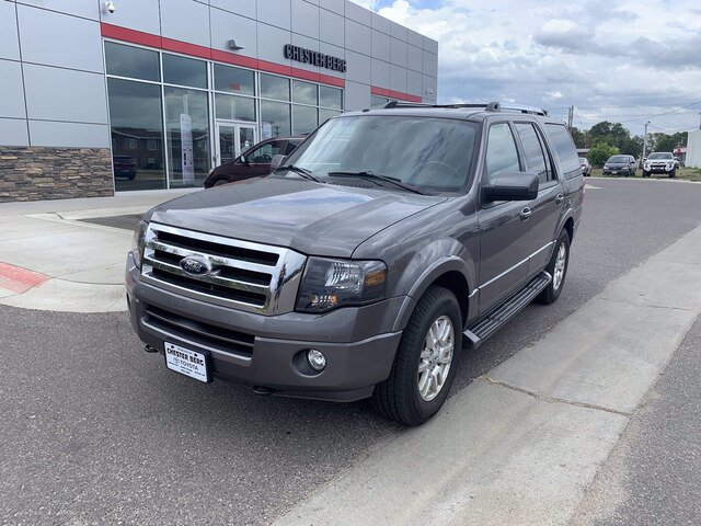 Used 2014 Ford Expedition Limited with VIN 1FMJU2A57EEF05571 for sale in Bemidji, Minnesota