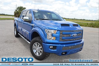 2015 Ford F150 Lariat Tuscany FTX Truck SuperCrew Cab