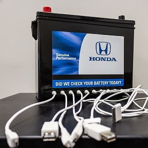 honda service center evansville charging station