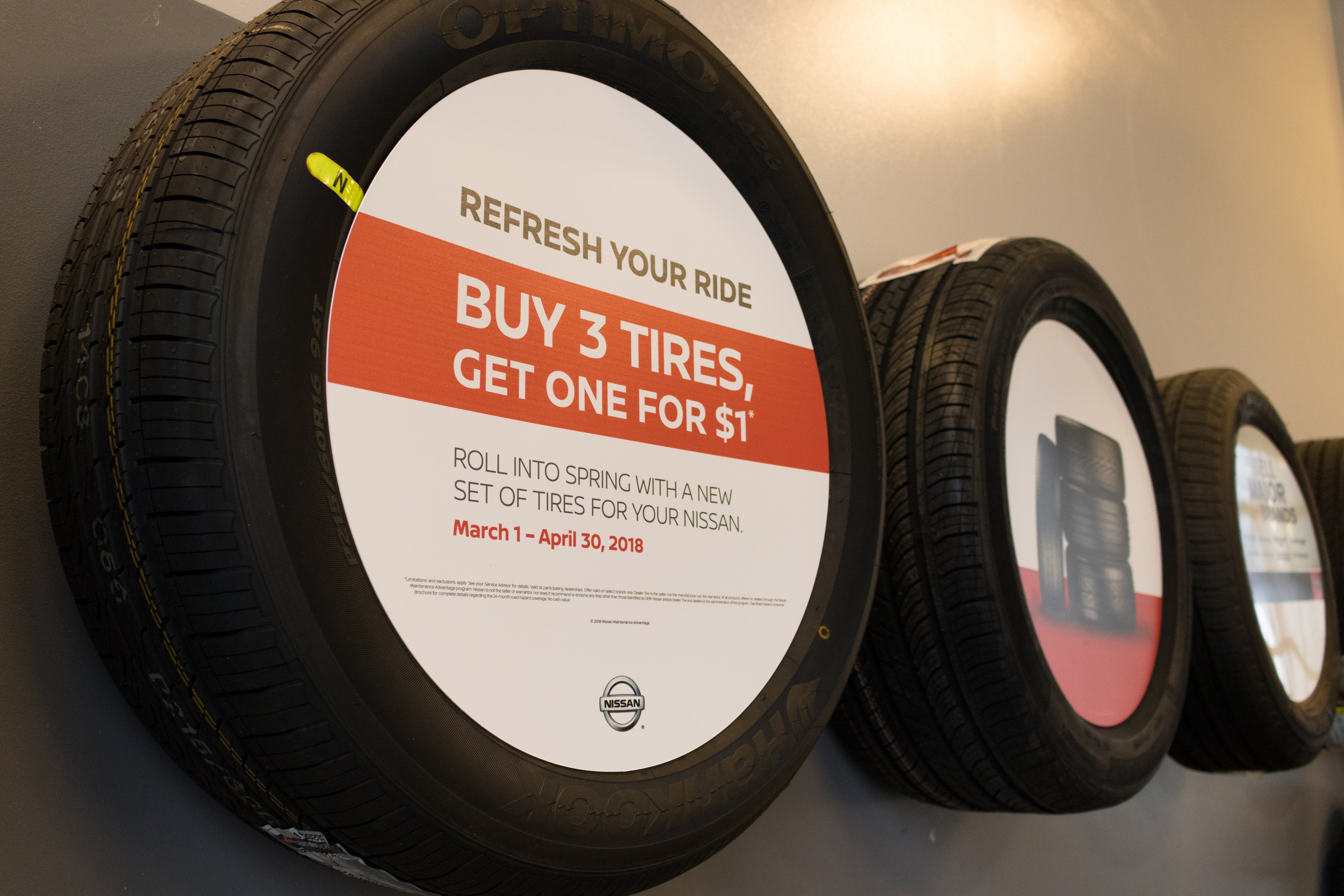 tire coupons for your nissan near evansville indiana. Black Bedroom Furniture Sets. Home Design Ideas