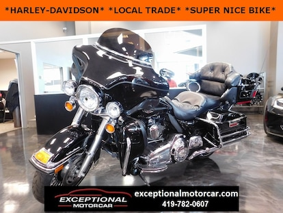 Harley Davidson Used >> Used 2010 Harley Davidson Ultra Classic For Sale Defiance Oh1hd1fc410ab656372 B656372
