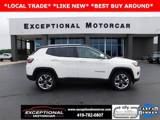 Used Vehicles for sale 2018 Jeep Compass Limited 4x4 SUV in Defiance, OH