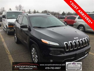Used Vehicles for sale 2015 Jeep Cherokee Limited 4x4 SUV in Defiance, OH