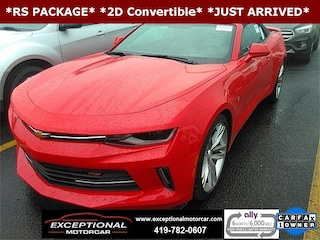 Used Vehicles for sale 2016 Chevrolet Camaro 2LT Convertible in Defiance, OH