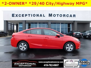 Used Vehicles for sale 2018 Chevrolet Cruze LS Auto Sedan in Defiance, OH