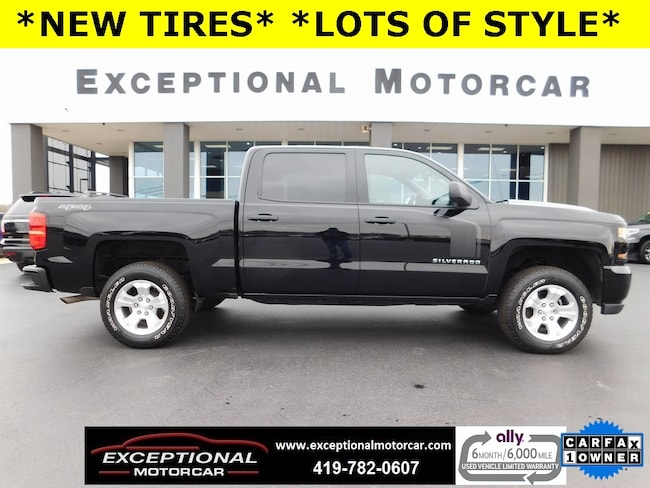 Used 2018 Chevrolet Silverado 1500 For Sale At Exceptional Motorcar Vin 3gcukpec5jg461943