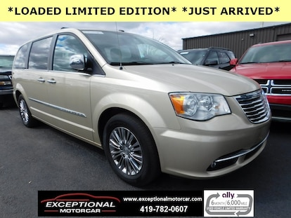 Chrysler Town And Country For Sale >> Used 2011 Chrysler Town Country For Sale Defiance Oh2a4rr6dg1br611116 R611116