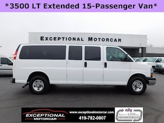 Used Vehicles for sale 2016 Chevrolet Express 3500 LT w/1LT Van Extended Passenger Van in Defiance, OH