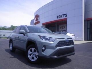 New 2019 Toyota RAV4 Hybrid For Sale in Pekin IL