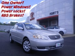 Bargain Used Cars  2004 Toyota Corolla LE Sedan For Sale in Pekin IL