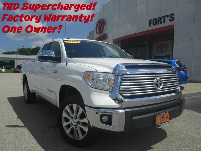 2014 Toyota Tundra 4x4 Limited 5.7L V8 FFV 26 Truck Double Cab