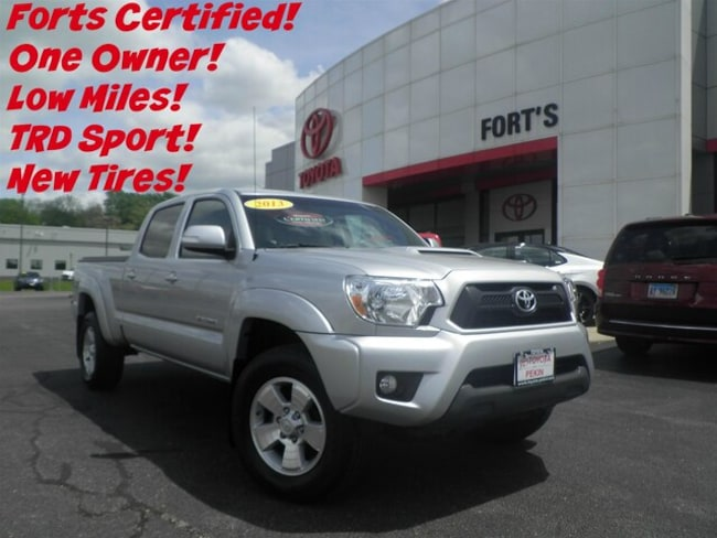 Used 2013 Toyota Tacoma 4x4 V6 Automatic Truck Double Cab For Sale in Pekin, IL