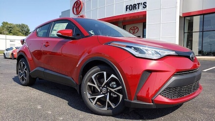 Featured new 2020 Toyota C-HR XLE SUV for sale in Pekin, IL