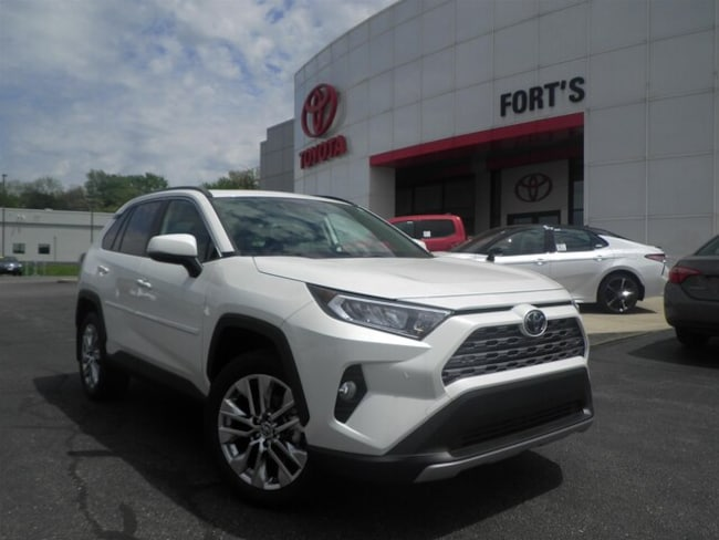 New 2019 Toyota RAV4 Limited SUV For Sale in Pekin, IL