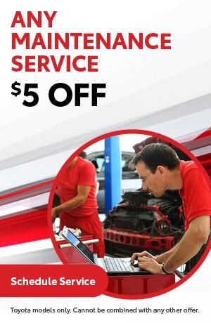 $5 OFF Any Maintenance Service