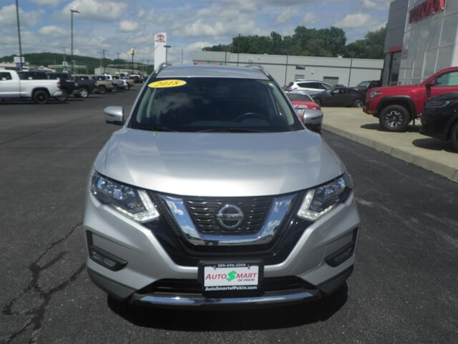 Used 2018 Nissan Rogue For Sale | Pekin IL | 5N1AT2MT7JC777380