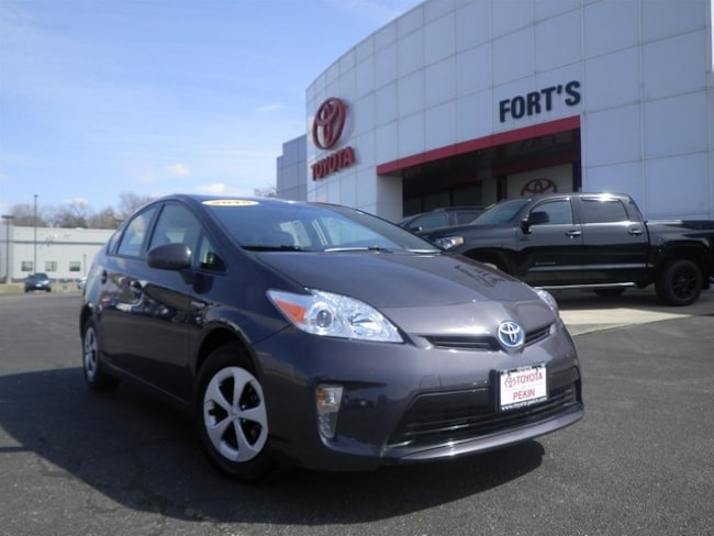 Used 2015 Toyota Prius Two Hatchback For Sale in Pekin, IL